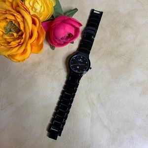 NWOT Croton Wrist Watch w/ Diamond Inlays
